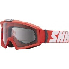 GOGLE SHIFT NANO SOLID MATTE RED - SZYBA CLEAR