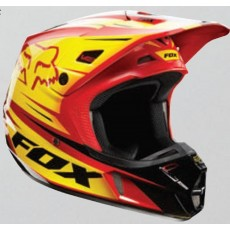 KASK CROSS FOX V-2 RACE RED/YELLOW