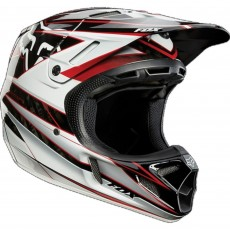 KASK CROSS FOX V-4 RACE BLACK/RED