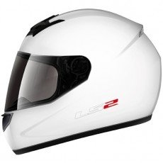 KASK LS-2 FF-350.1 SINGLE GLOSS WHITE