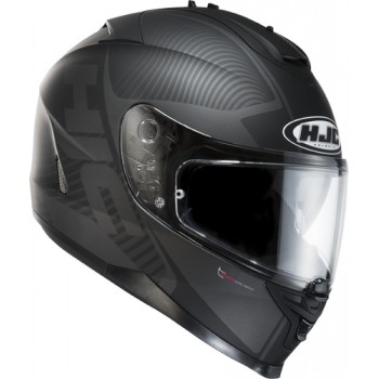 KASK HJC IS-17 MISSION BLACK