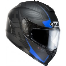 KASK HJC IS-17 MISSION BLACK/BLUE
