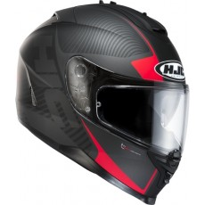 KASK HJC IS-17 MISSION BLACK/RED