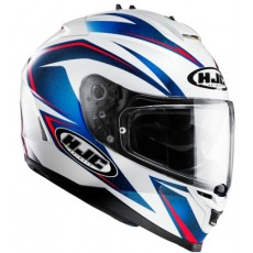 KASK HJC IS-17 OSIRIS WHITE/BLUE