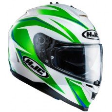 KASK HJC IS-17 OSIRIS WHITE/GREEN