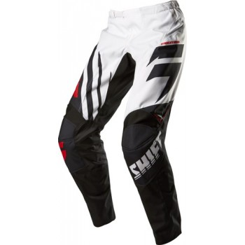 SPODNIE SHIFT ASSAULT RACE BLACK/WHITE
