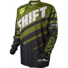 BLUZA SHIFT ASSAULT RACE BLACK/GREEN