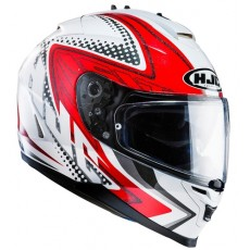 KASK HJC IS-17 TASMAN WHITE/RED