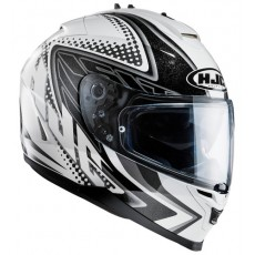 KASK HJC IS-17 TASMAN WHITE/BLACK