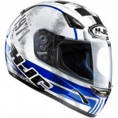 KASK HJC CS-14 CHECK 71 WHITE/BLUE