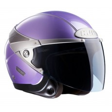 KASK HJC ARTY METAL PURPLE