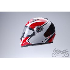 KASK LS2 FF322.22 CORSA WHITE RED